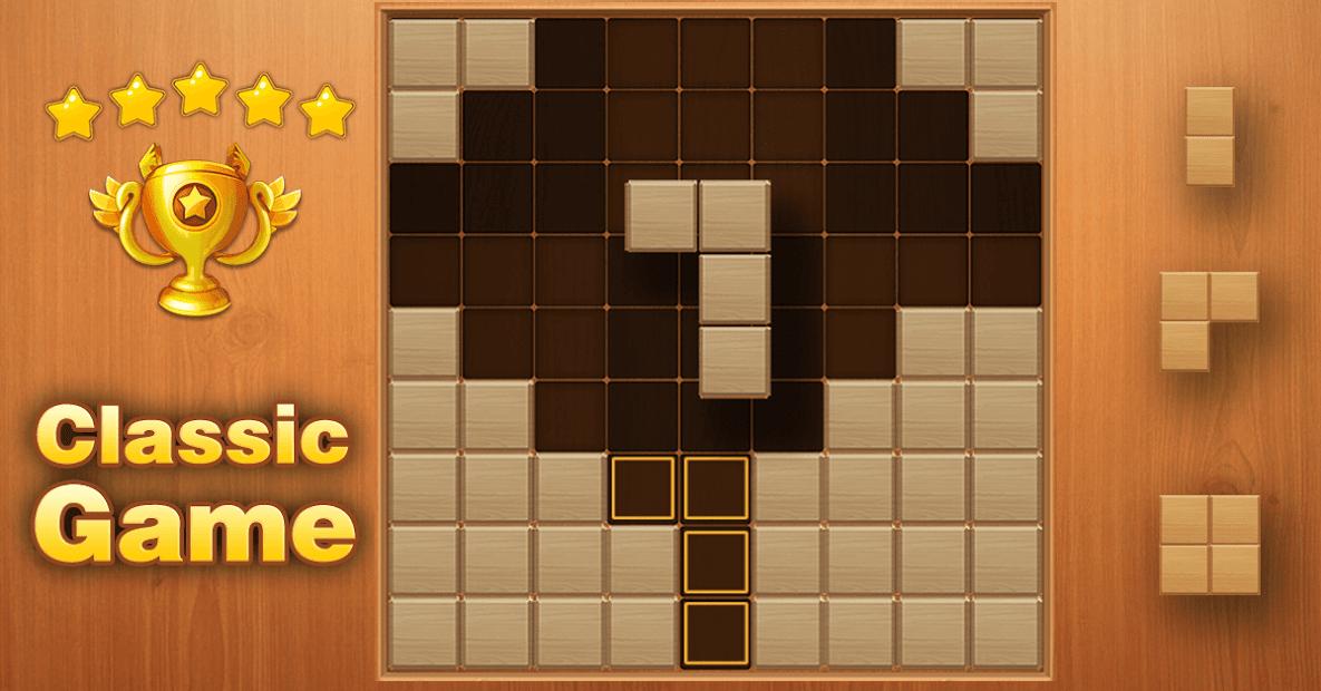 Captura de Pantalla 16 de Block Puzzle - Free Sudoku Wood Block Game para android