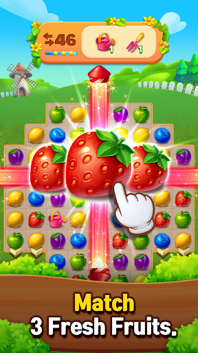 Fruits Farm: Sweet Match 3 games 1.1.0 screenshots 10