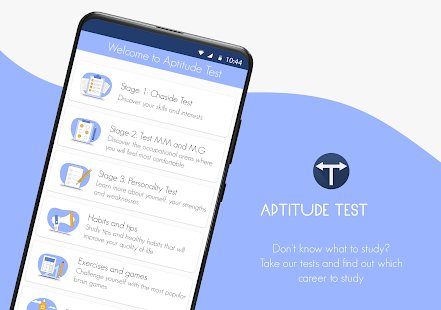 Aptitude test & career test