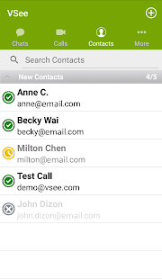 VSee Messenger Screenshot