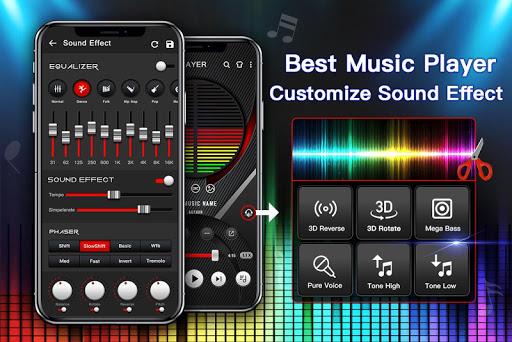 Music Player - Audio Player with Best Sound Effect apktram screenshots 1