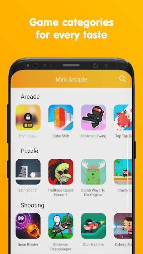 Mini Arcade - Two player games 1.5.2 screenshots 4