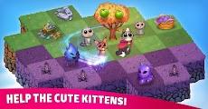Merge Cats: Magic merging, garden renovation gamesのおすすめ画像5