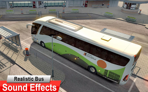 City Coach Bus Driving Simulator 3D: City Bus Game screenshots 11