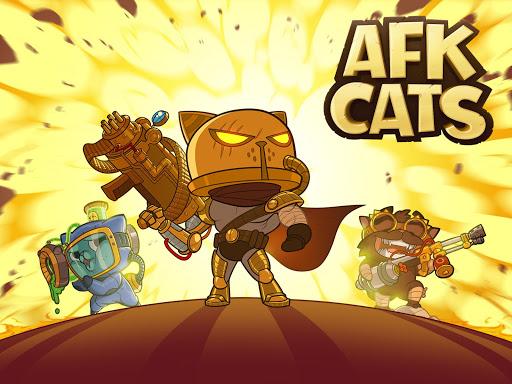 Télécharger AFK Cats: Arène RPG Idle et Batailles de vos Héros  APK MOD (Astuce)width=