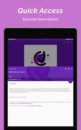 Podcast Player  Screenshots 18