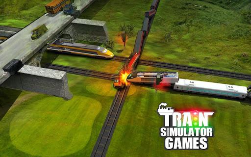City Train Driver Simulator 2021:Free Train Games apktram screenshots 4