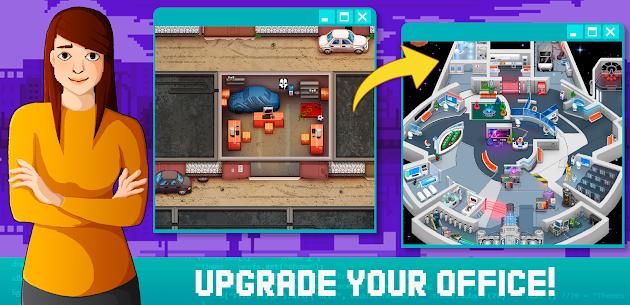 Idle Dev Empire Tycoon sim business Mod Apk (Unlimited Money) 3