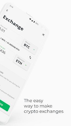 instant crypto exchange)