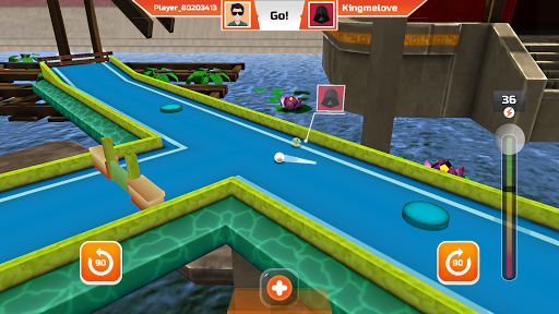 Mini Golf 3D City Stars Arcade - Multiplayer Rival 24.6 screenshots 7