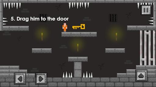 Escaping Noob vs Hacker: one level of Jailbreak apkpoly screenshots 6
