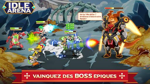 Télécharger Gratuit Idle Arena - Bataille de héros clicker mod apk screenshots 2