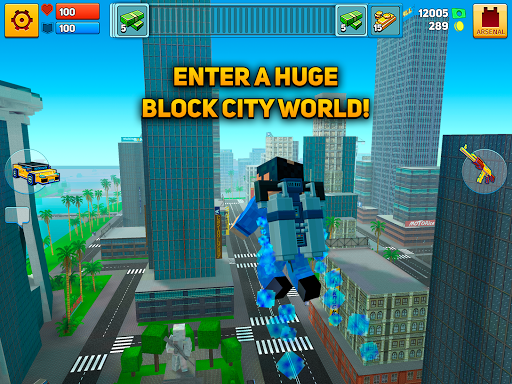 Block City Wars: Pixel Shooter with Battle Royale apktram screenshots 6