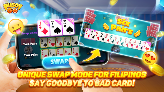 Pusoy Go: Free Online Chinese Poker(13 Cards game) 3