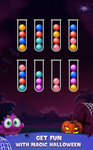 Color Ball Sort Puzzle - Dino Bubble Sorting Game  screenshots 10