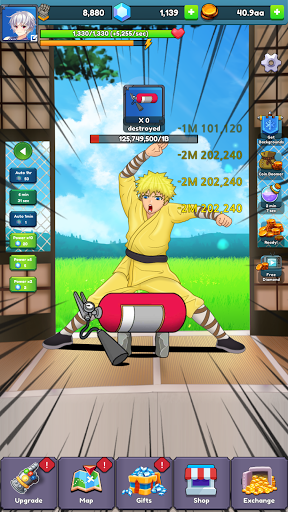 Tap Break Them All : Clicker Hero 1.1.18 screenshots 1