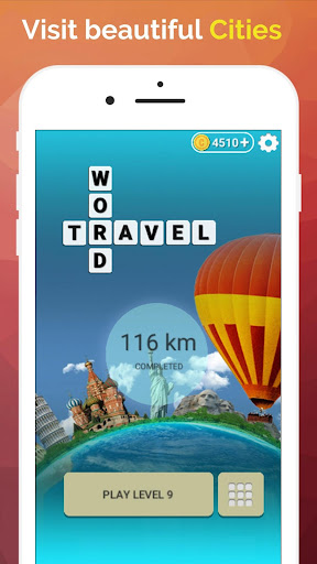 Word Travel:World Tour via Crossword Puzzle Game 3.42 screenshots 2