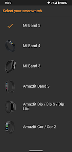Navigator for Mi Band 5/4/3, Bip and Cor Screenshot