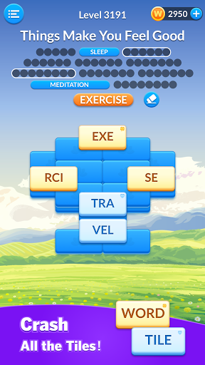 Word Tile Puzzle: Brain Training & Free Word Games android2mod screenshots 2