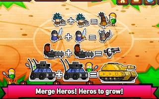 Merge Heroes Battle : Begin Evolve