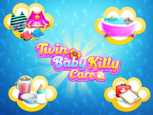 Kitty Care Twin Baby Game  screenshots 10