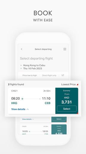 Cathay Pacific screenshots 4