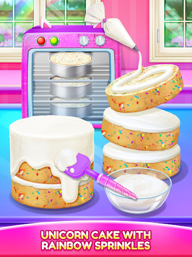 Unicorn Food - Cake Bakery 2.1 Screenshots 9