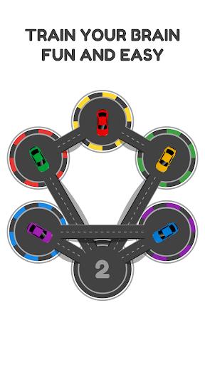 hexa parking - combination puzzle & brain training screenshot 2