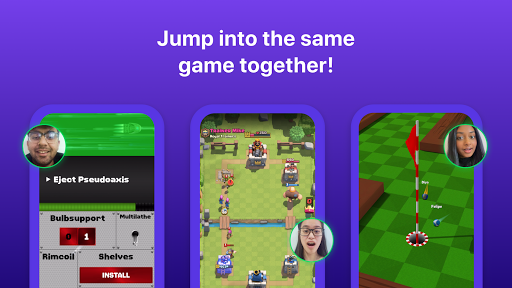 Bunch: Group Video Chat & Party Games 6.28.0 Screenshots 3