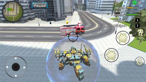 Crime Angel Superhero - Vegas Air Strike Apkfinish screenshots 18