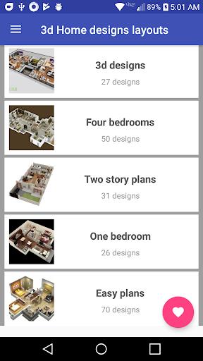 3d Home designs layouts 9.7 Screenshots 2