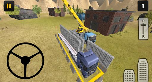 construction truck 3d: prefab transport screenshot 3