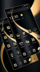Gold Curving Luxury Business Theme 3