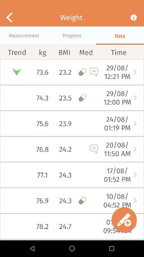 Beurer HealthManager 2.10 Screenshots 4