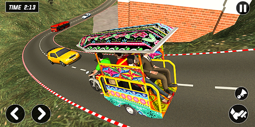 Chingchi Rickshaw Game:Tuk Tuk Parking Simulator screenshots 2