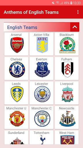 anthems - premier league screenshot 2