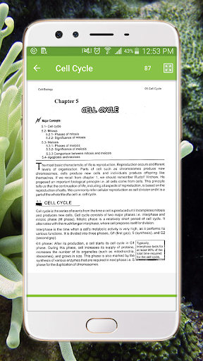 text book - biology class 9 screenshot 3