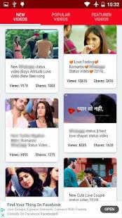 Romantic Video Status for Whatsapp - Love Videos