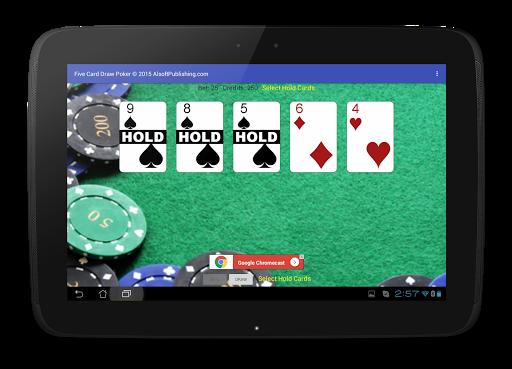 Five Card Draw Poker 1.20 screenshots 11