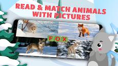 英語、読み方を習って動物たちを助ける。英語ABCを学ぶ教育ゲーム。のおすすめ画像2