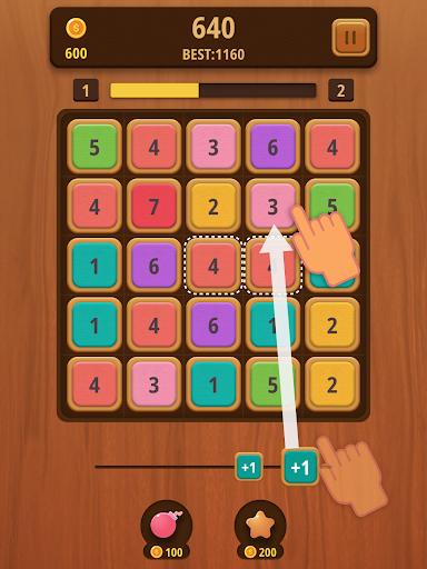 Mergezilla - Number Puzzle Apkfinish screenshots 6