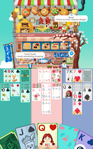 Solitaire : Cooking Tower 1.3.6 screenshots 9