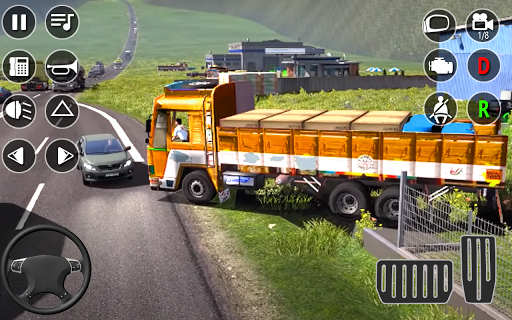 American Cargo Truck Game - New Driving Simulator 1.6 Screenshots 14