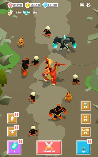 Merge Monster Evolution:  Summon & Merge RPG 1.0.16 screenshots 14