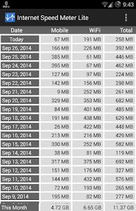 Internet Speed Meter Lite apk 3