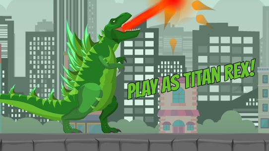Hybrid Titan Rex: City Rampage MOD APK 0.3 (Unlimited Banknotes) 1