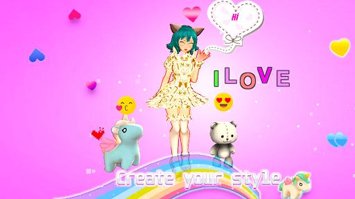 life idol Dress up 3d  screenshots 1