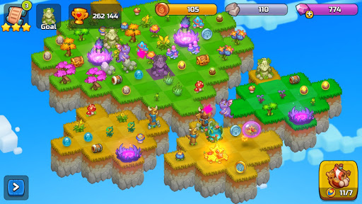 Merge World Above: Ever Merging games android2mod screenshots 6