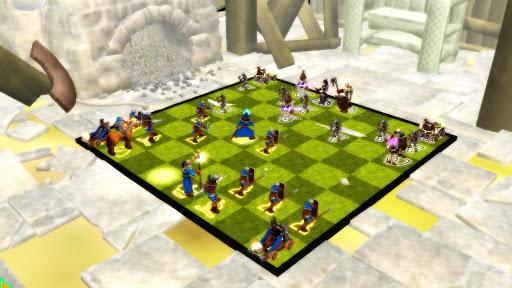 Chess 3D Animation : Real Battle Chess 3D Online 6.1.1 screenshots 2