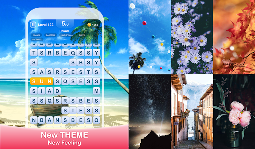 Scrolling Words-Moving Word Game & Find Words  screenshots 4